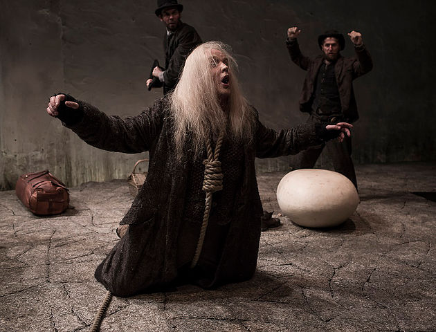 Druid Godot at the Abbey Theatre April May 2017