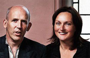 Conor Lovett and Judy Hegarty Lovett from Gare St Lazare
