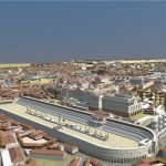 3D model of The Circus Maximus, Rome's arena for chariot racing.